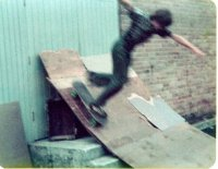 Me riding the ramp